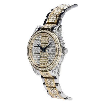 Croton N/A Mens Silver Tone Bracelet Watch-Ca301298ssbk