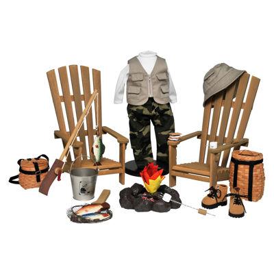 The Queen's Treasures Complete18 Inch Doll OutdoorAdventure Set