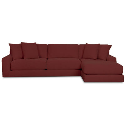 Fabric Possibilities Ponderosa 2-Pc Left Arm Chaise Sectional