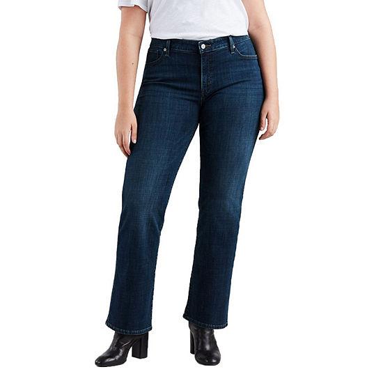 Levi's-Plus Womens Mid Rise 415 Regular Fit Bootcut Jean