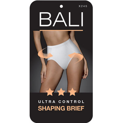 Bali Seamless Tummy Panel Extra Firm Control 2-Pack Control Briefs X245