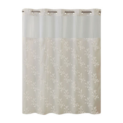 Spring Leaves Hookless Shower Curtain