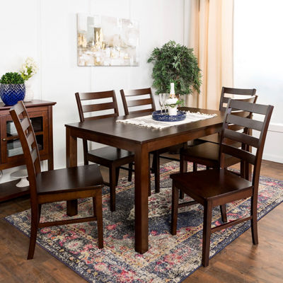 Homestead 7-pc. Wood Dining Set