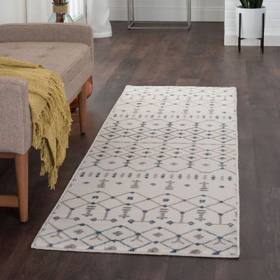 Tayse Heidy Transitional Geometric Runner