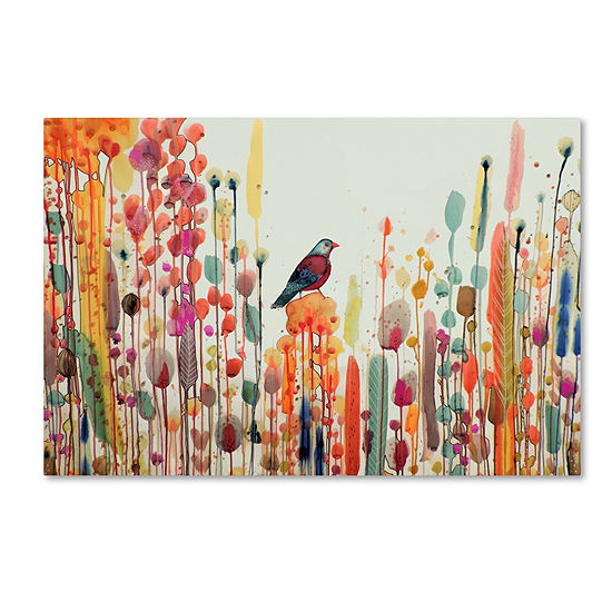 Trademark Fine Art Sylvie Demers Joie De Vivre Giclee Canvas Art