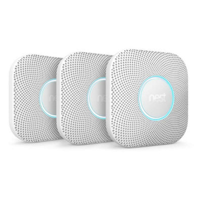 Nest Protect Smoke + CO Alarm 3 pack Battery