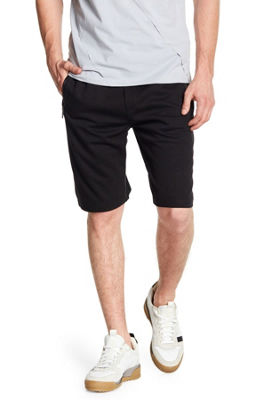 Solid Short With Side Zipper Pockets