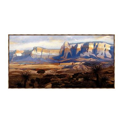 Great Frontier Framed Canvas Art