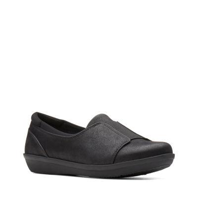 Clarks Ayla Band Womens Slip-On Shoes Slip-on Closed Toe