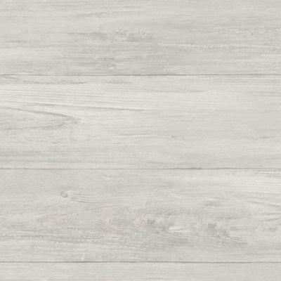 Brewster Wall Grey Wood Plank Peel & Stick Wallpaper Wall Decal