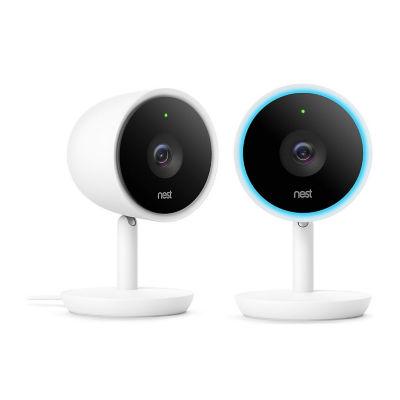 Nest Cam IQ Indoor Security Camera 2 Pack
