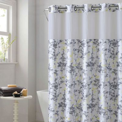 Frosty Peva Shower Curtain Liner
