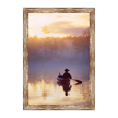 Misty Summer Morning Framed Print