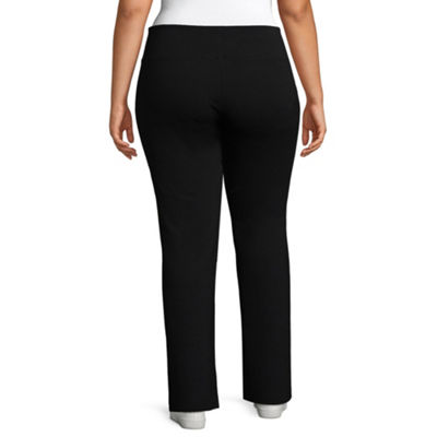 Liz Claiborne Weekend Bootcut Pant- Plus