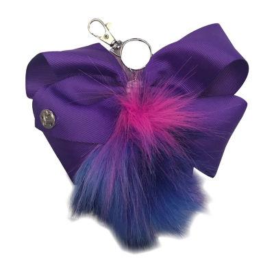 JoJo Siwa Signature Long Hair Pom Keychain