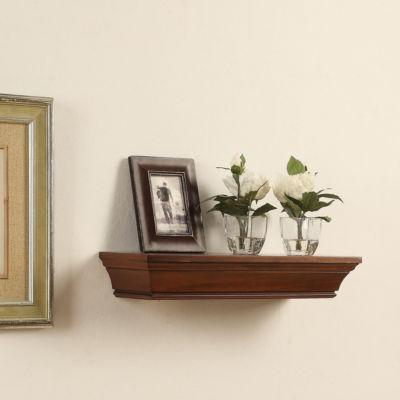 Decorative Floating Wood Wall Shelf