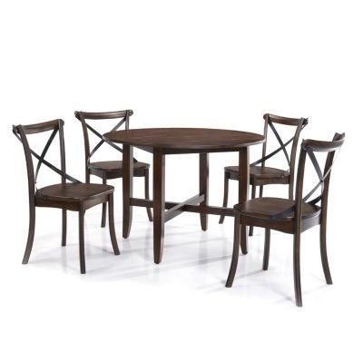 Lindsay 5pc Round Dining Set