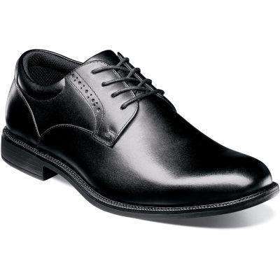 Nunn Bush Nantucket Men's Plain Toe Waterproof Dress Oxford Shoes