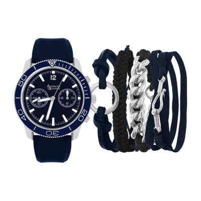 Womens Blue Bracelet Watch-Mst5468bk100-007