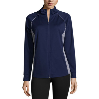 St. John's Bay Active Knit Midweight Track Jacket