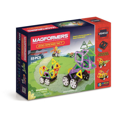Magformers Zoo Racing Set 55 PC. Set