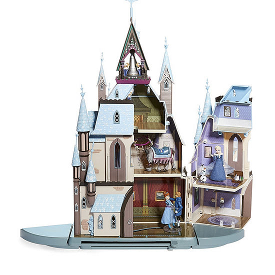 Disney Olafs Frozen Adventure Castle With Figures