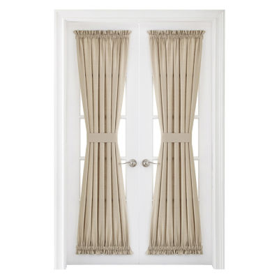 JCPenney Home Supreme Rod Pocket Door Panel Curtain