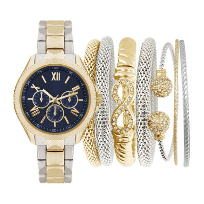 Womens Two Tone Bracelet Watch-St1286s695-558