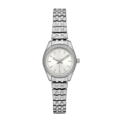 Womens Silver Tone Expansion Watch-Fmdjo136