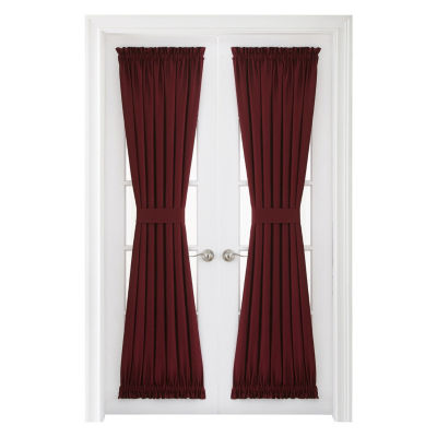 JCPenney Home Supreme Rod-Pocket Door Panel Curtain