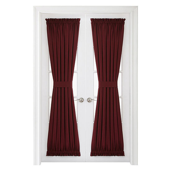 JCPenney Home Supreme Energy Saving Light-Filtering Rod-Pocket Door Panel Curtain
