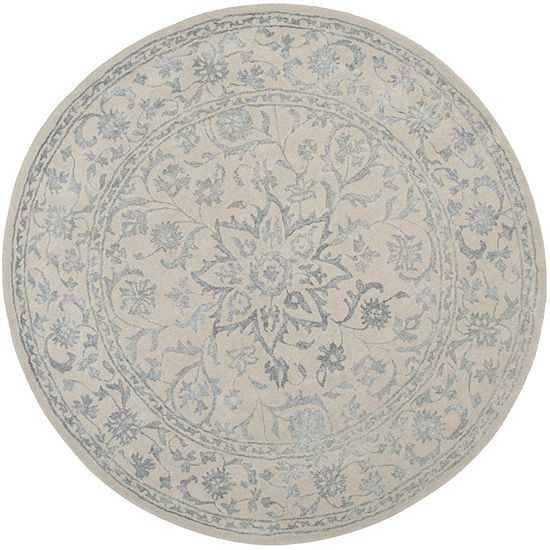 Safavieh Glamour Collection Apache Floral Round Area Rug