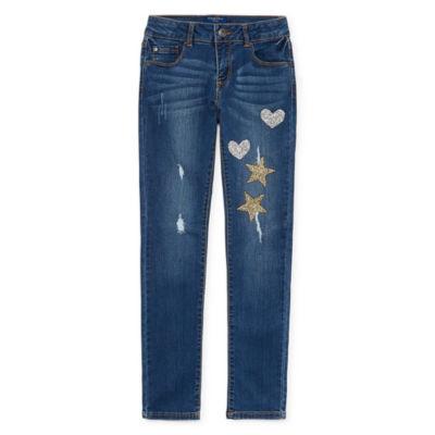 Arizona Shine Skinny Jean Girls 4-16 and Plus