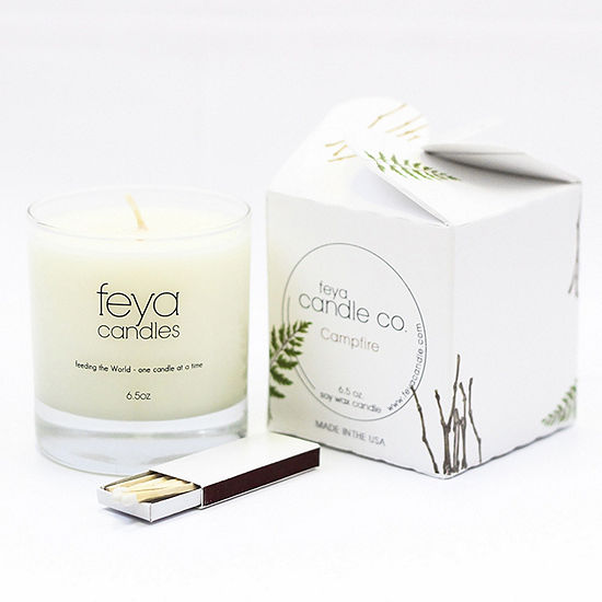 Feya Candle 6.5oz Campfire Soy Candle