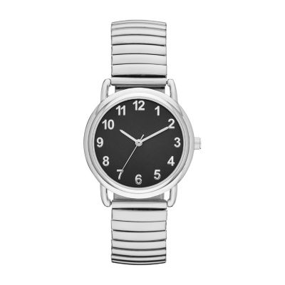 Womens Silver Tone Expansion Watch-Fmdjo137