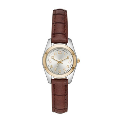 Womens Brown Strap Watch-Fmdjo138