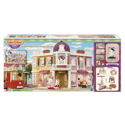 Calico Critters Grand Department Store Dollhouse
