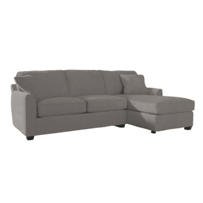 Fabric Possibilities Sharkfin 2-Pc Right Arm Chaise Sectional