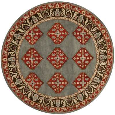 Safavieh Heritage Collection Ophelia Oriental Round Area Rug