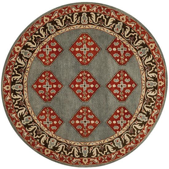 Safavieh Heritage Collection Ophelia Oriental Round Area Rug