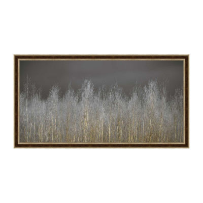 Silver Forest Framed Canvas Art