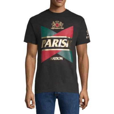 Parish Not Applicable Short Sleeve Logo Graphic T-Shirt