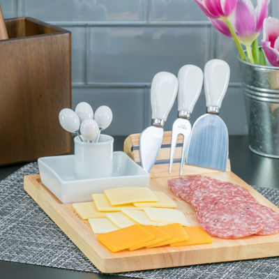 Denmark Denmark Artisanal 8-pc. Cheese Board Set