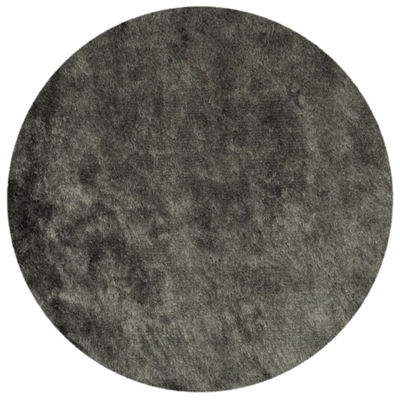 Safavieh Shag Collection Camille Solid Round Area Rug