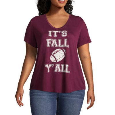 Boutique + Short Sleeve Graphic T-Shirt - Plus