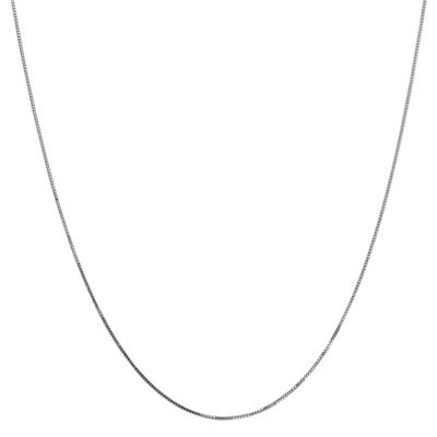 Solid Box 14 Inch Chain Necklace
