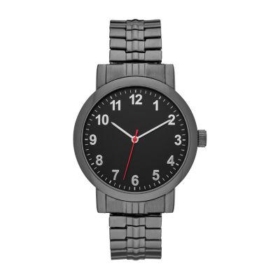 Mens Black Expansion Watch-Fmdjo142