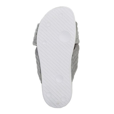 Dearfoams Quilted X-Band Slide Slipper