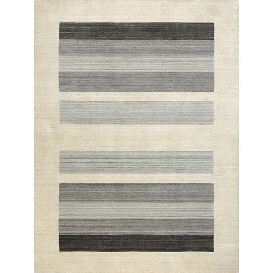 Amer Rugs Blend AE Hand-Woven Wool and Viscose Rug