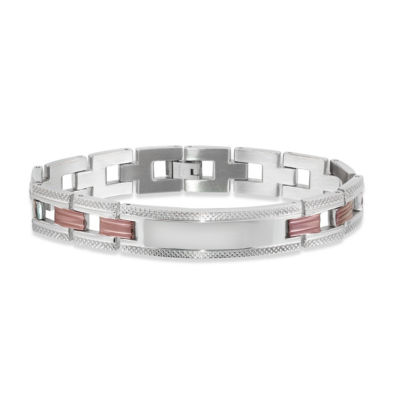 Stainless Steel Casted Id Bracelet